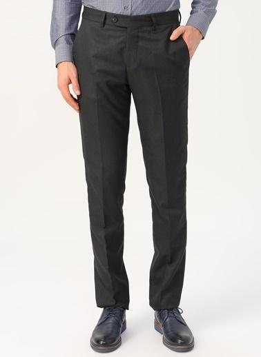 Cotton Bar Klasik Pantolon Gri